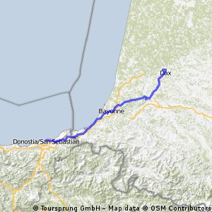 Dax - San Sebastian CLONED FROM ROUTE 379756