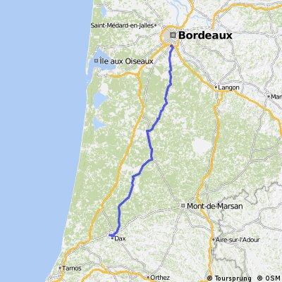 Bordeaux - Saint Paul Les Dax CLONED FROM ROUTE 379753