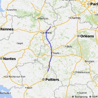 La Ferte Bernard - Chatellerault CLONED FROM ROUTE 389425