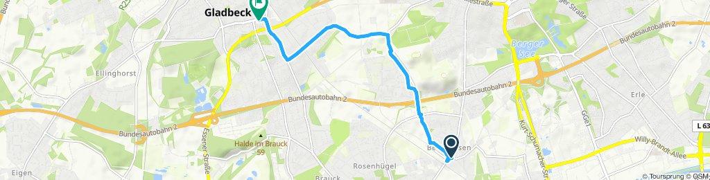 Route nach McFit