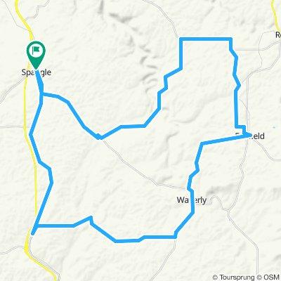 Spangle-Fairfield Loop. if N Kentuck