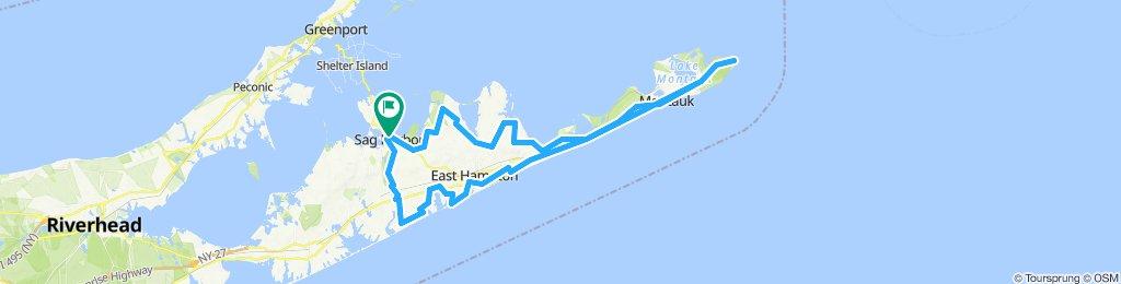 Sag Harbor- Montauk - Sag Harbor