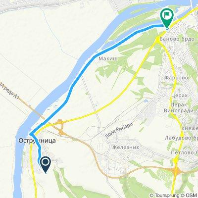 Easy ride in Belgrade