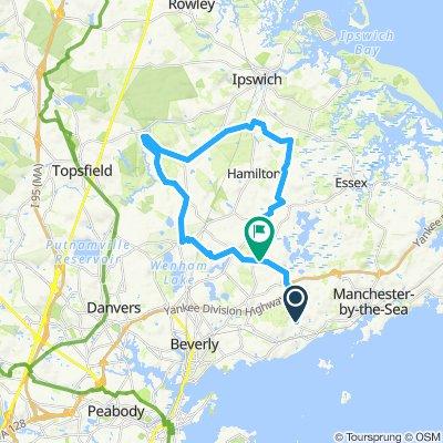 Morning Ride Through Bradley-Palmer