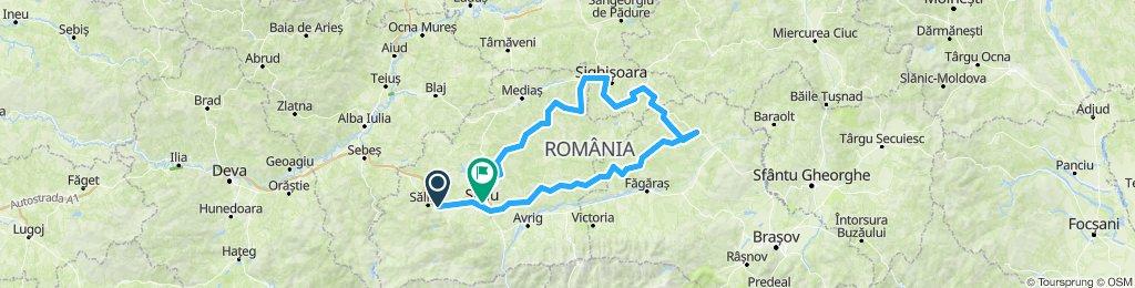 Sacel-Rupea-Viscri-Crit-Cloasterf-Malancrav-Biertan-Sibiu