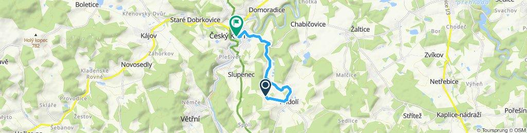 Steady ride in Český Krumlov