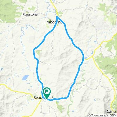 Beaudesert - Jimboomba round trip