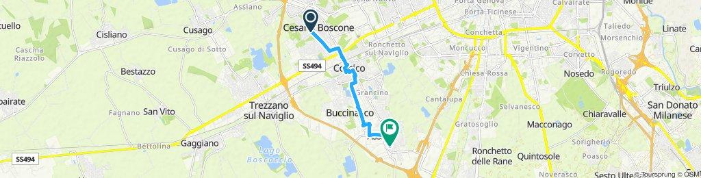 Easy ride in Assago