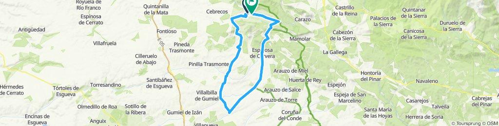Quintanilla del Coco-Baños de Valdearados-Silos-Quintanilla