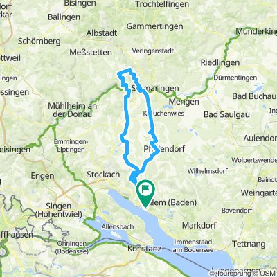 Map Of Uberlingen Germany.Cycling Routes And Bike Maps In And Around Uberlingen Bikemap