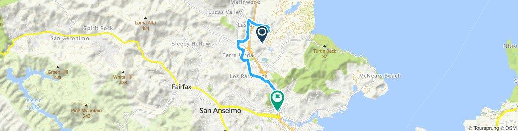 Moderate route in San Rafael