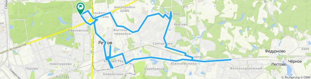 Летние велокурьерские поездки по Балашихе, Железнодорожному и Реутову 25 07 2019