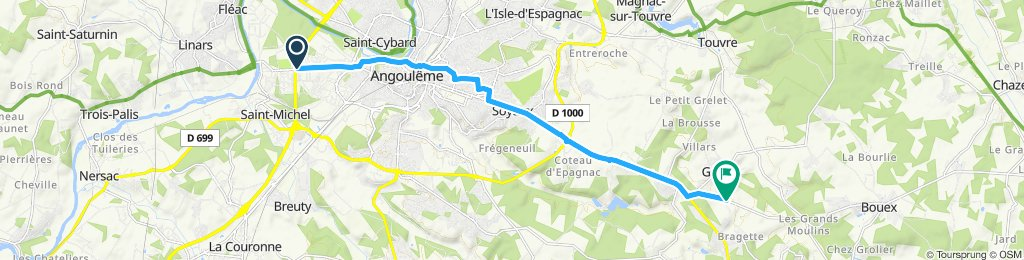Saint-Michel Cycling