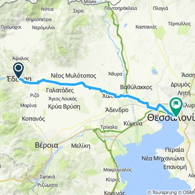 Cycling Routes And Bike Maps In And Around Edessa Bikemap Your
