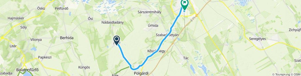 Easy ride in Székesfehérvár