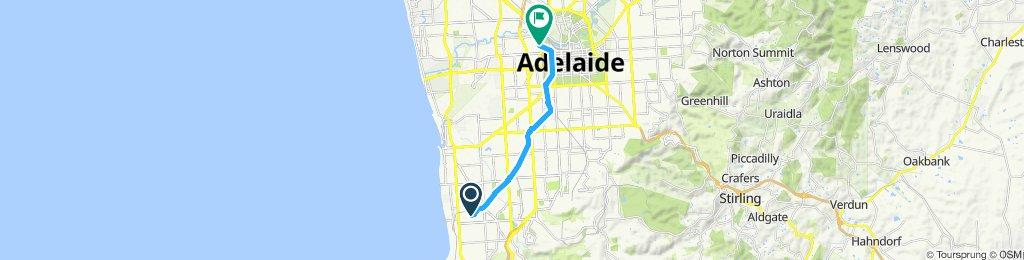 Easy ride in Warradale