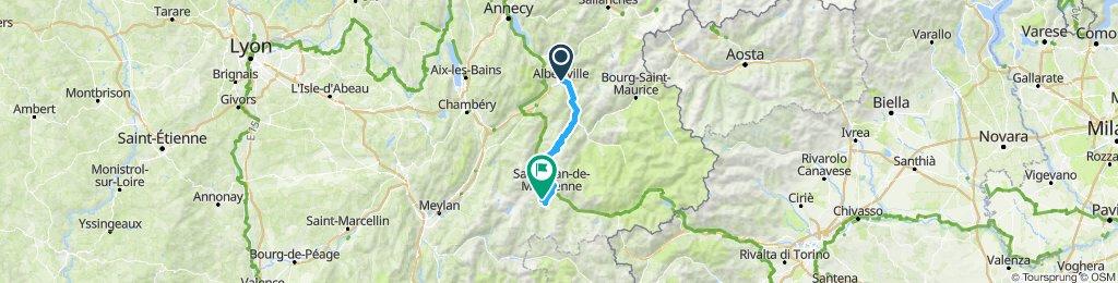 Route Alpes 1