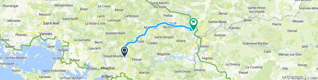 Easy ride in Saint-Perreux