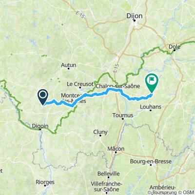 Uxeau to Saint Germain