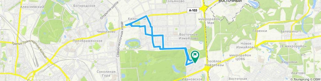 Велопоездка на работу и назад домой 26 - 07 -2019