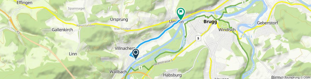 Gemütliche Route in Umikenc  bb