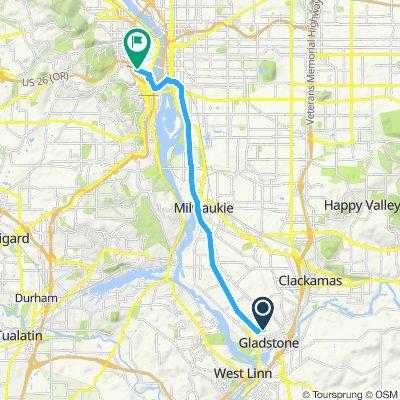 Snail-like route in Vancouv