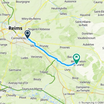 Reims - Mourmelon