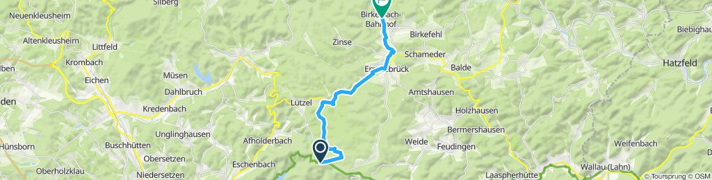 Route im Schneckentempo in Erndtebrück