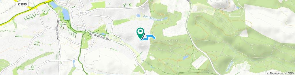 Moderate Route in Böblingen