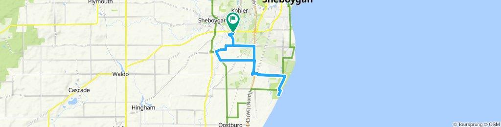 Easy ride in Sheboygan Falls