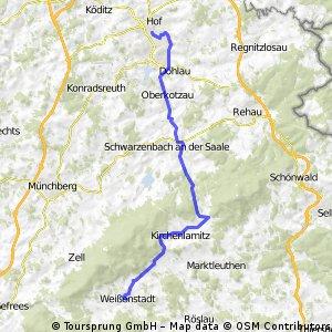 2010 Fichtelgebirgs Tour 5 Weissenstadt-Hof