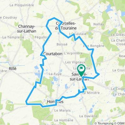 20 Km autour de la maison