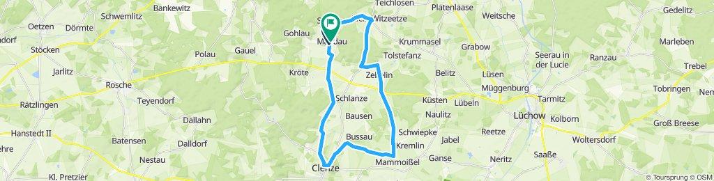 Tour durch den Südkreis Lüchow-Dannenberg