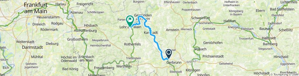 Würzburg - Lohr am Main