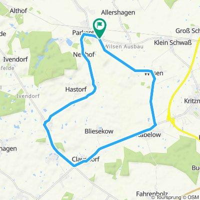 Hassbergrunde 18km