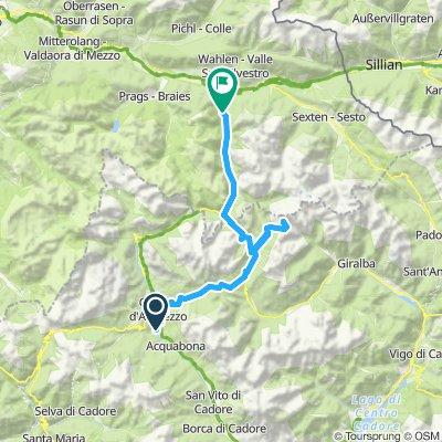 10 - Italie Camping Cortina au Camping Lago di Dobbiaco