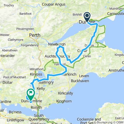 2019 Tour of Scotland Stage 1 Dundee to Dunfermline