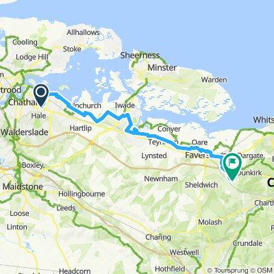 Rochester to Faversham