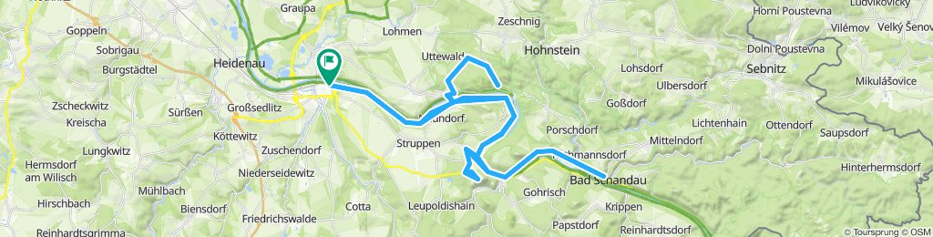 Pirna-Bastei-Königstein-Bad Schandau-Pirna