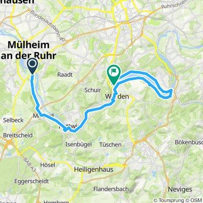 Baldeneysee bis Mühlheim