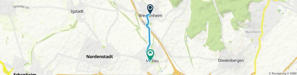 Gemütliche Route in Hofheim am Taunus
