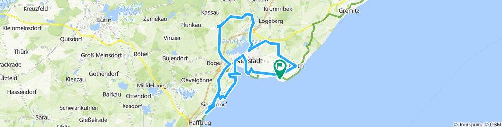 Gemütliche Route in Neustadt in Holstein