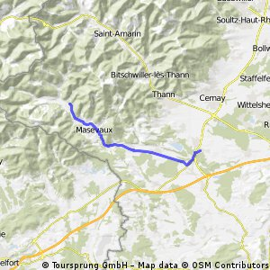Schweighouse - Wegscheid - 41 km AR
