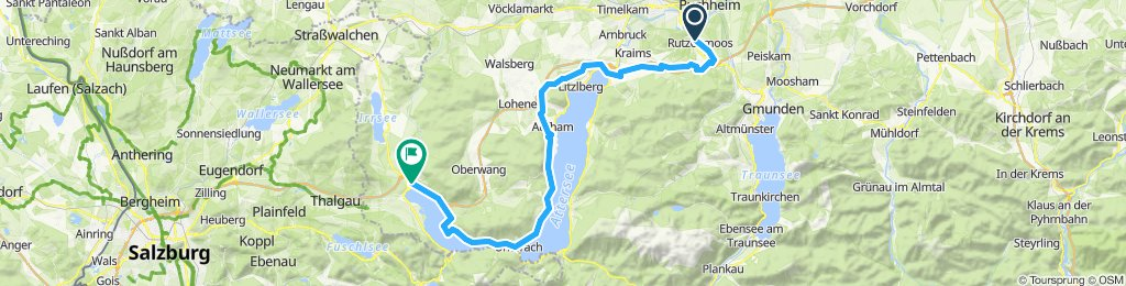 Moderate Route in Mondsee