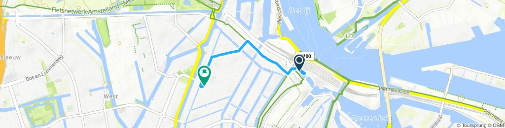 Moderate Route in Amsterdam