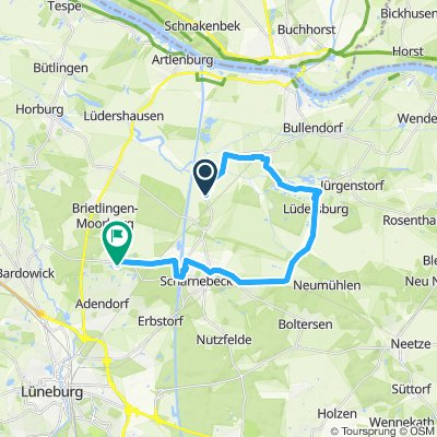 Gemütliche Route in Scharnebeck