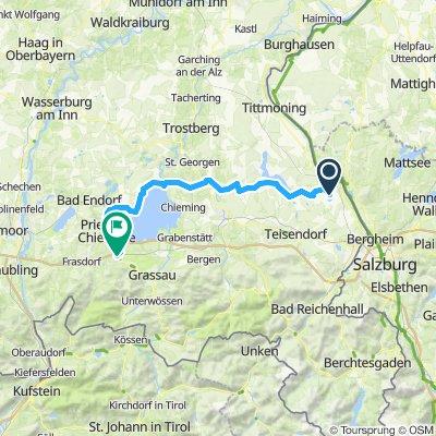 I laghi di Salisburgo 4a tappa Laufen - Bernau