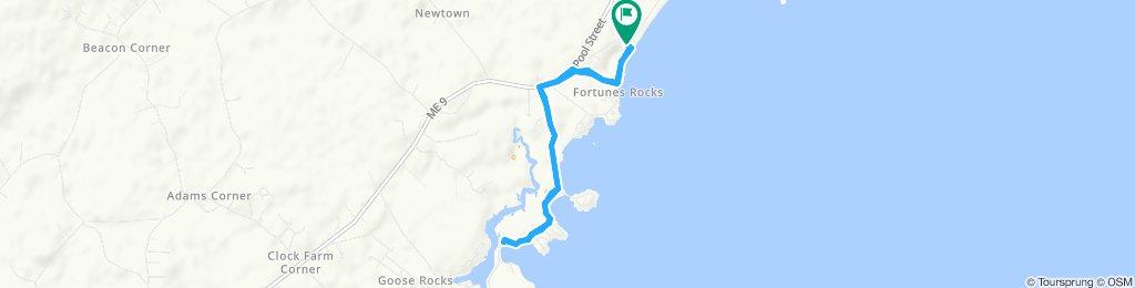 Moderate route in Biddeford