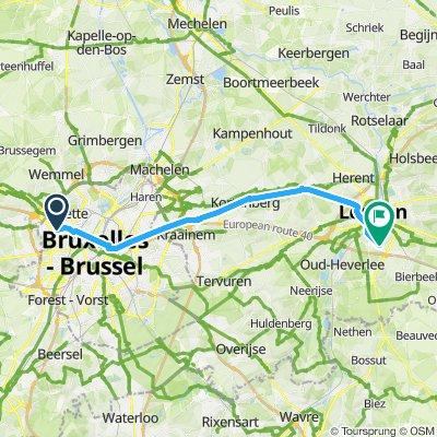 Work Berchem - Louvain