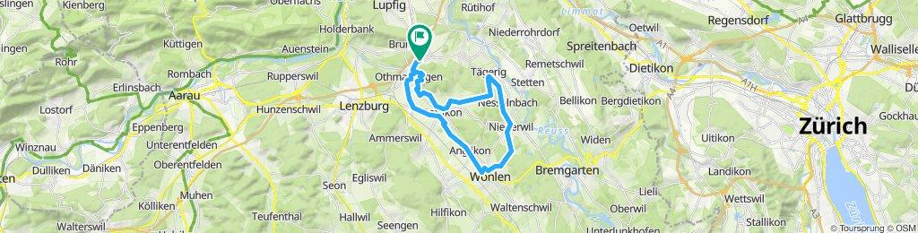 Mägenwil-Dottikon-Wohlen-Niederwil-Tägerig-Mägenwil